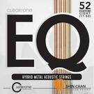【缺貨】CLeaRTone EQ(0.11-0.52)美製民謠吉他弦/木吉他弦 混合金【CLeaRTone吉他弦專賣店/7811】