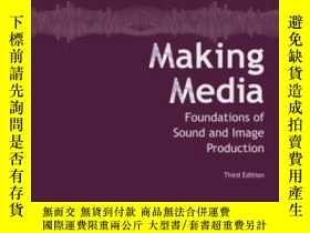 二手書博民逛書店Making罕見Media: Foundations Of Sound And Image Production-
