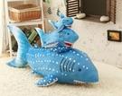 【30公分】海底世界 藍色大鯊魚 大白鯊 仿真玩偶 抱枕絨毛娃娃 生日禮物 聖誕節交換禮物