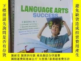 二手書博民逛書店Kindergarten罕見Language Arts Success(大16開)Y5460 見圖 Sylva