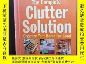 二手書博民逛書店The罕見Complete Clutter Solution: