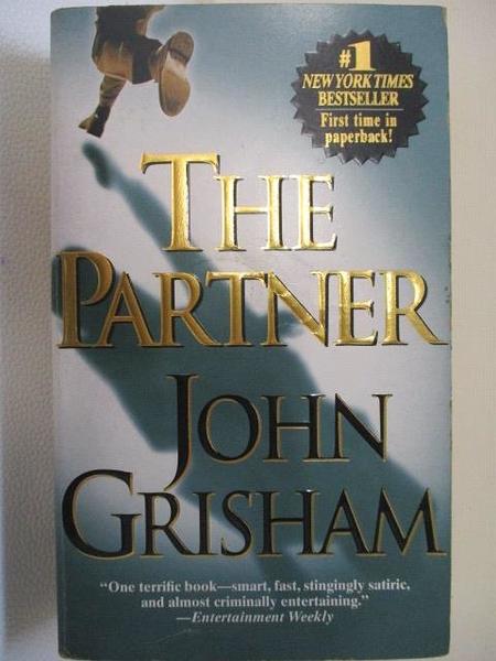 【書寶二手書T1/原文小說_BOP】The Partner_John Grisham