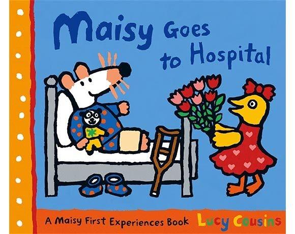 Maisy Goes To Hospital 波波住院了!故事小書