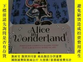 二手書博民逛書店AIice罕見in Wonderland TURN LEWIS