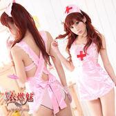 角色扮演護士服 誘惑寶貝!柔緞三件式護士服 性感內衣 情趣睡衣 女衣