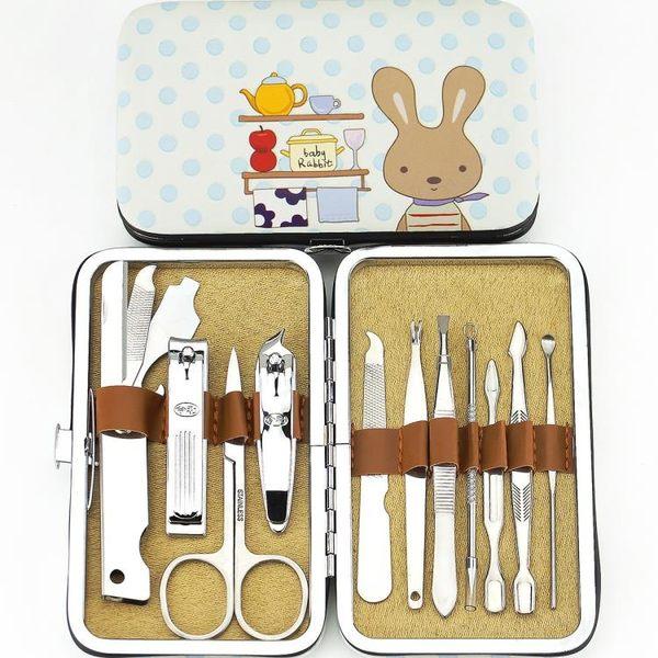 聖誕交換禮物-指甲剪套裝修甲工具指甲刀不銹鋼指甲鉗