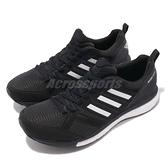 adidas 慢跑鞋 Adizero Tempo 9 W 黑 白 BOOST 發泡中底 舒適緩震 運動鞋 女鞋【ACS】 B37426