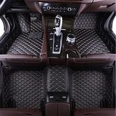 汽車腳墊單個主駕駛位全包圍絲圈腳踏墊專用地毯式單片皮革車墊子 【端午節特惠】