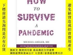 二手書博民逛書店如何在大流行疾病中生存罕見英文原版 How to Survive a Pandemicovercoming Cov
