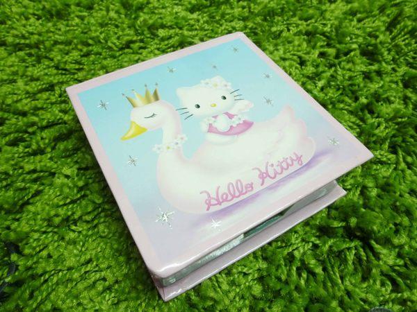 【震撼精品百貨】Hello Kitty 凱蒂貓~便條紙附整理盒-25週年-天鵝【共1款】