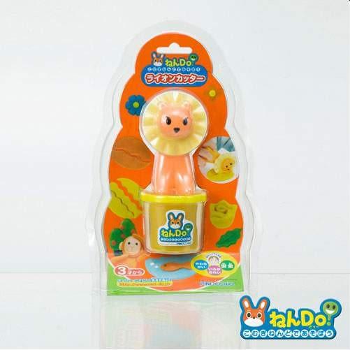 PINOCCHIO-黏Do!創意黏土-小獅王波浪狀裁切器(黏土道具)【TwinS伯澄】送可愛療癒系擺飾橡皮擦1個