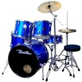 Boston 入門嚴選GPC-56標準爵士鼓組-藍色