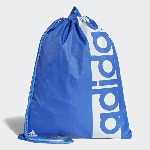 樂買網 Adidas 18SS 愛迪達 束口包 輕便鞋袋 LIN PER GYM BAG系列 CF5014