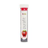 Purafit 鈣+維他命C發泡錠(草莓口味)20錠入