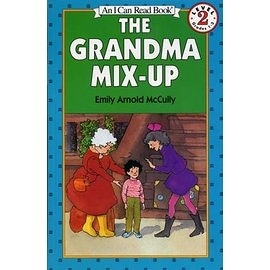 〈汪培珽英文書單〉〈An I Can Read系列:Level 2)THE GRANDMA MIX-UP / 讀本