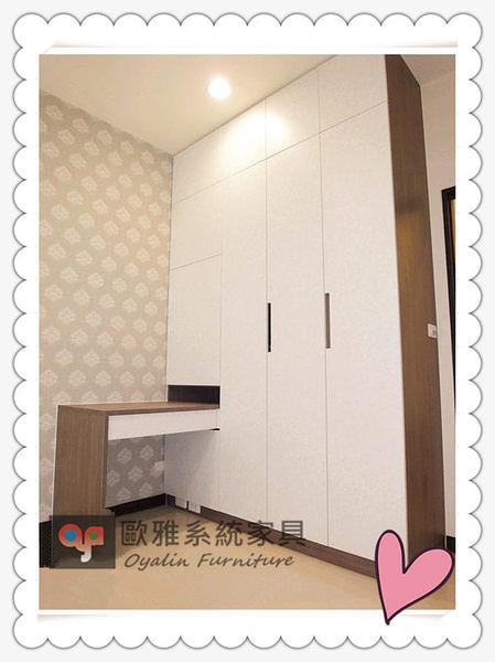 【系統家具】衣櫃+化妝桌整體設計 原價 83090 特價 58163