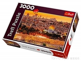 耶路撒冷的屋頂3000片歐洲進口拼圖 成人拼圖 益智玩具 全館新品85折 YTL