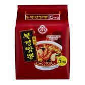 韓國不倒翁北京香辣海鮮味拉麵 120g*5【愛買】