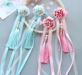 中國風寶寶髪夾 唯美兒童髪飾仿真絹花