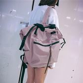 雙肩包女韓版原宿ulzzang 高中學生大容量背包校園2018新款書包女 免運