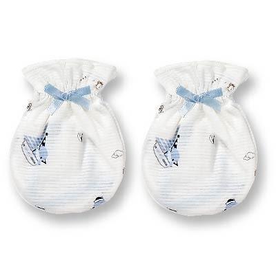 【奇買親子購物網】酷咕鴨KU.KU. 蝴蝶結手套/2雙(4入)(藍色/粉色)
