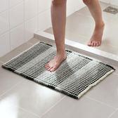 懶角落 衛浴防滑吸水地墊衛生間門口腳墊臥室踩腳墊子WY 免運直出 交換禮物