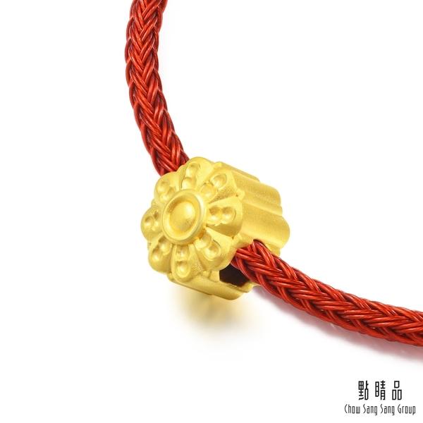點睛品 Charme文化祝福 八瑞相-妙蓮 黃金串珠