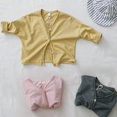 森林系寬鬆開衫外套 冷氣房薄外套 外套 聖誕保暖 橘魔法 現貨 兒童 童裝 女童 男童 兒童薄外套
