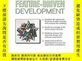 二手書博民逛書店A罕見Practical Guide To Feature-driven Development (the Coa