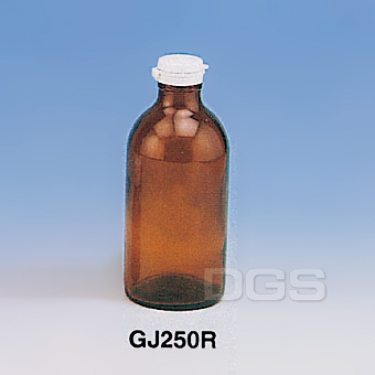 《台製》茶色玻璃瓶 Amber Glass Bottle with Safety Seal