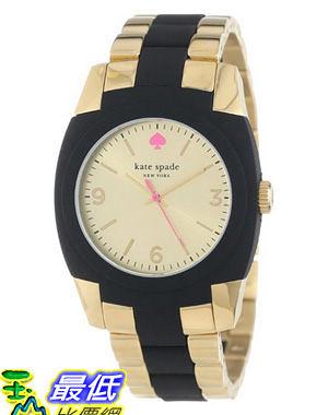 [美國直購 USAShop] 手錶 kate spade new york Women s 1YRU0161 Gold Black Skyline Watch $8930