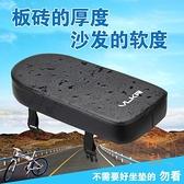 腳踏車載人後坐墊加厚柔軟填充海綿山地車【橘社小鎮】