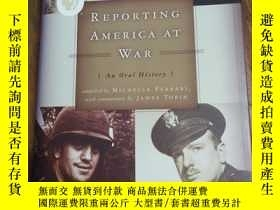 二手書博民逛書店Reporting罕見America at War: An Or