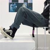 韓國復古經典款逼備百搭牛仔直筒長褲 18AW男女款  潮流前線
