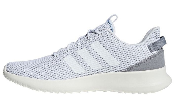 Adidas 男款運動慢跑鞋 白-NO.F34863