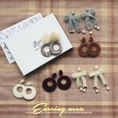現貨◆PUFII-耳環 氣質毛毛系列多款造型耳環 6色-1122  冬【CP15626】