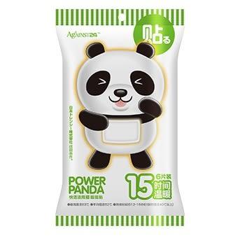 貓熊暖暖貼片6入快潔適 暖暖包 【艾保康】