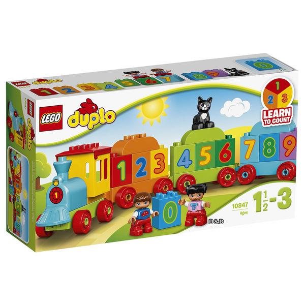樂高積木 LEGO《 LT10847 》2017 年 Duplo 得寶系列 - 數字火車╭★ JOYBUS玩具百貨