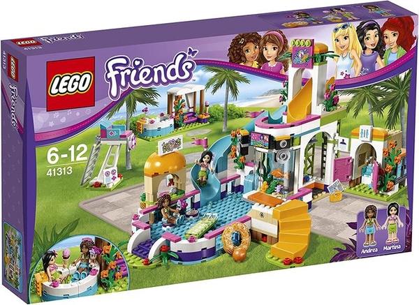 LEGO 樂高 好朋友系列 多基水上樂園 41313