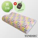 記憶枕_TENDAYs-DS柔眠枕(普普紅)10cm高
