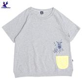 【春夏新品】American Bluedeer - 潛水鹿印花T(魅力價) 春夏新款