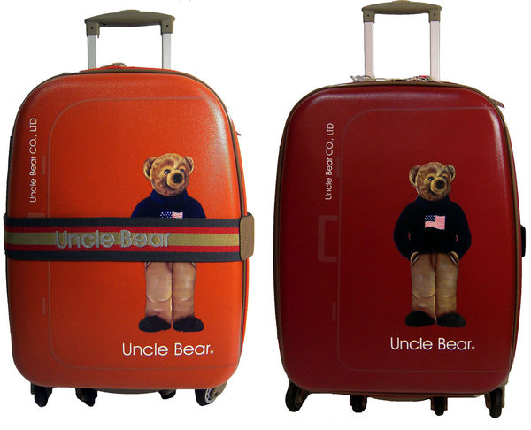 Uncle Bear 25吋六輪防潑水可加大旅行箱(附海關鎖)