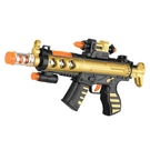 兒童電動聲光玩具槍男孩寶寶道具電動沖鋒槍帶紅外玩具步槍 降價兩天