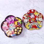創意新年糖果盒卡通過年零食干果盤家用堅果盒旋轉果盒分格瓜子盤 酷斯特數位3c