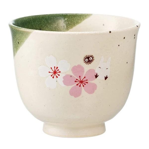 小禮堂 龍貓 無把陶瓷杯 (美濃燒) 4973307-54425