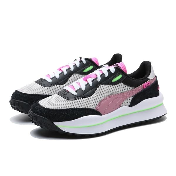 PUMA 慢跑鞋 STYLE RIDER NEO ARCHIVE 灰黑粉 女(布魯克林) 37338103