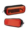 奶爸商城 日本正版 PUMA筆袋 雙層筆袋 橘129810
