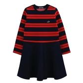 『小鱷魚童裝』條紋拼接洋裝(10號~16號)534360