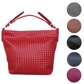 【現貨】編織包 大容量 編織側背 編織肩背包 斜背包 側背包 9966