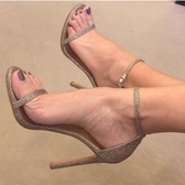 高跟鞋 明星同款一字扣帶涼鞋女高跟鞋細跟露趾仙女風夏新款百搭網紅 瑪麗蘇